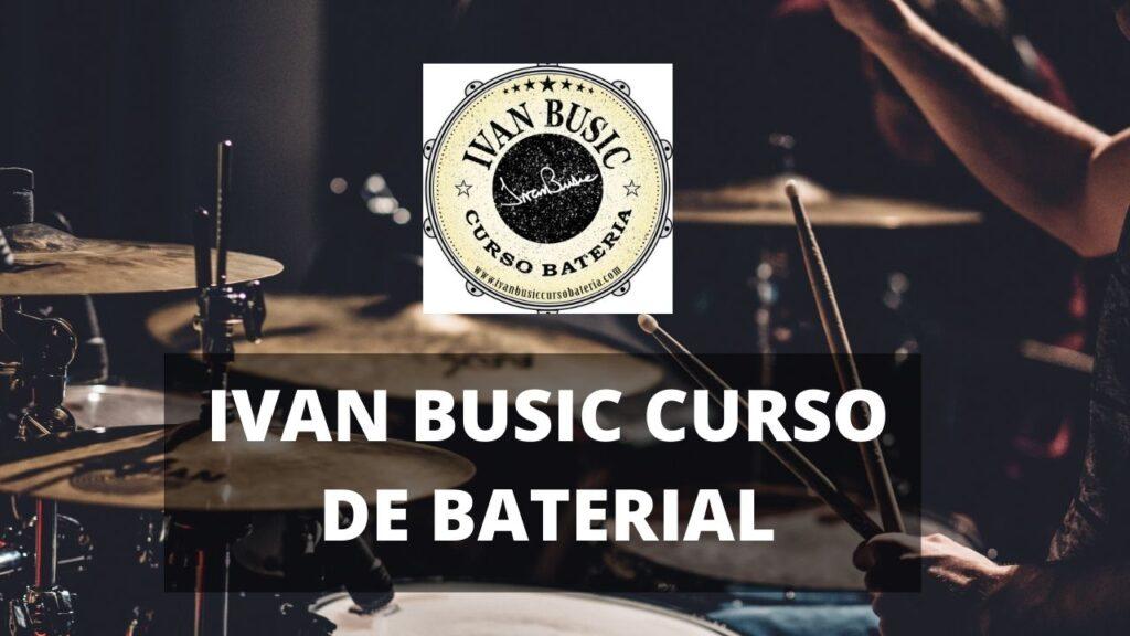 Ivan Busic Curso de Bateria