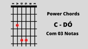 Notas da Guitarra Do 3 Notas Power Chords