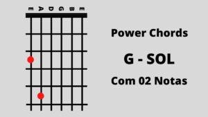 Sol 2 Notas Power Chords