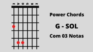 Sol 3 Notas Power Chords